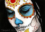 Day of the Dead Girl Three ATC