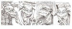 Ninja Turtles Ukiyo-e
