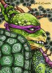 TMNT Donatello / ACEO