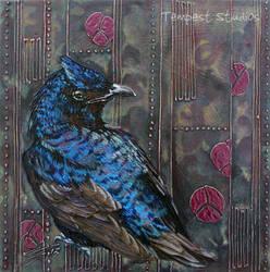 Purple Martin Mezzo by TempestErika