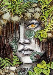 Rainforest ATC by TempestErika