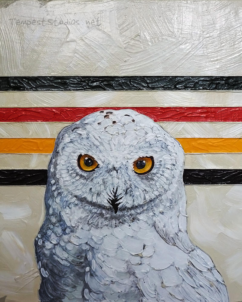 Usual Suspects: Snowy Owl by TempestErika