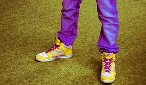 Funkadelic shoes