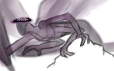 [SPN]Concept Art: True Form_Lucifer by KitsuneofDeath