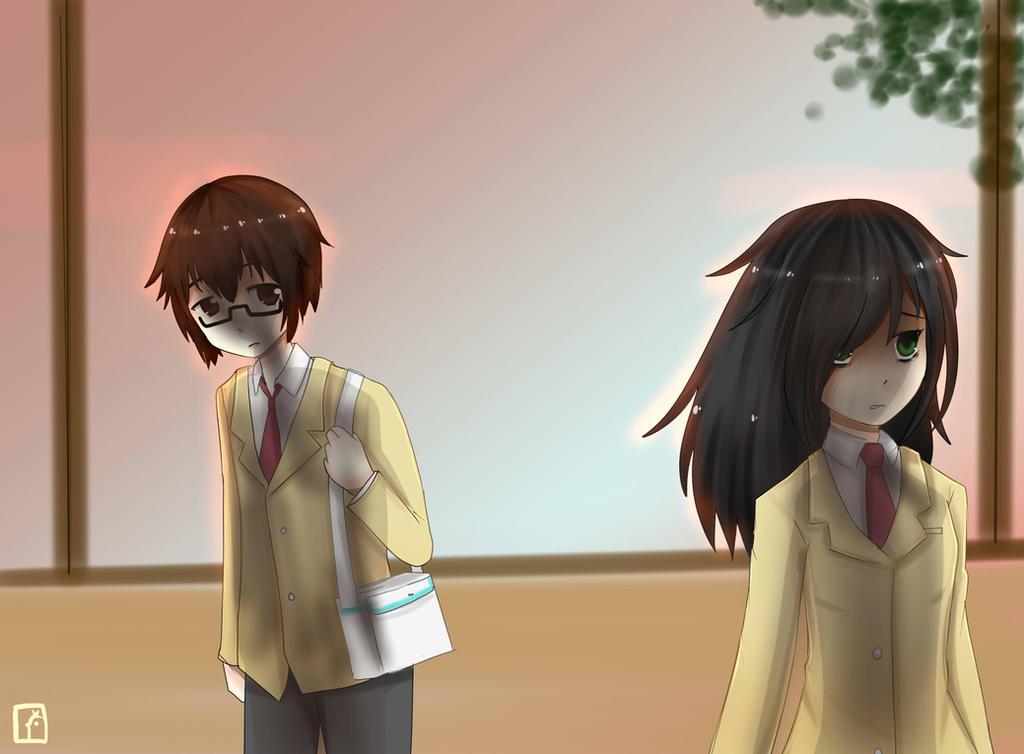 Tomoko-chan by CariAguilar