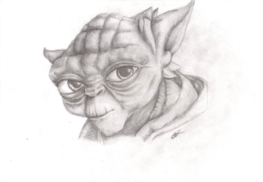 Yoda by Alyca