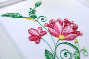 Floral quilling by InnaAdamenya