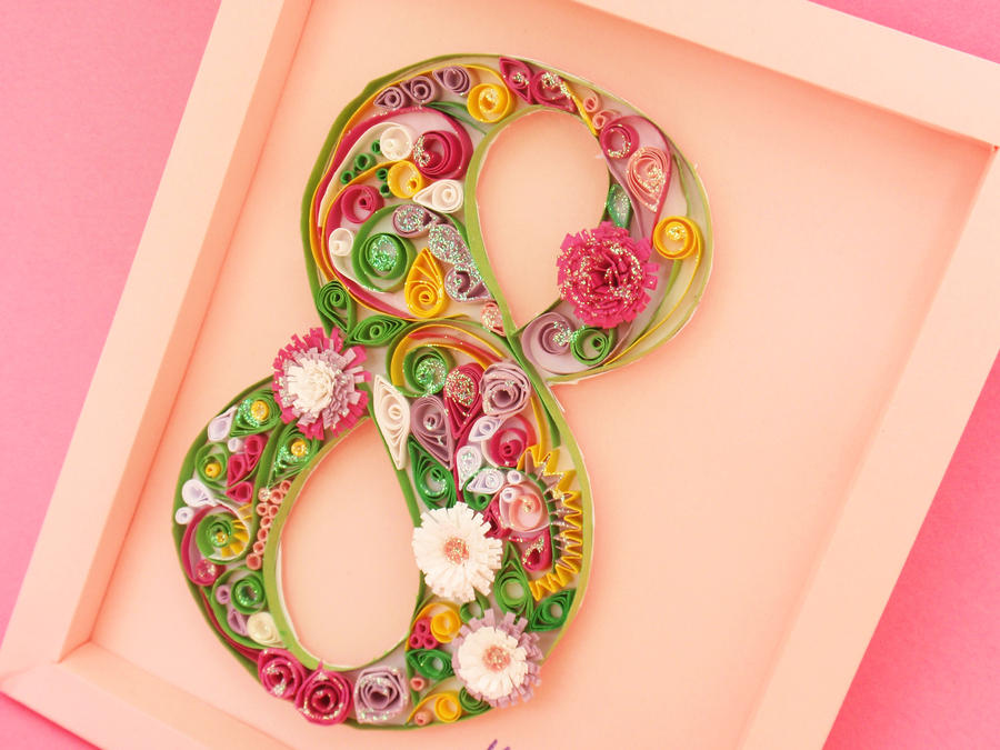Quilled 8 by InnaAdamenya