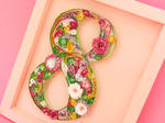 Quilled 8