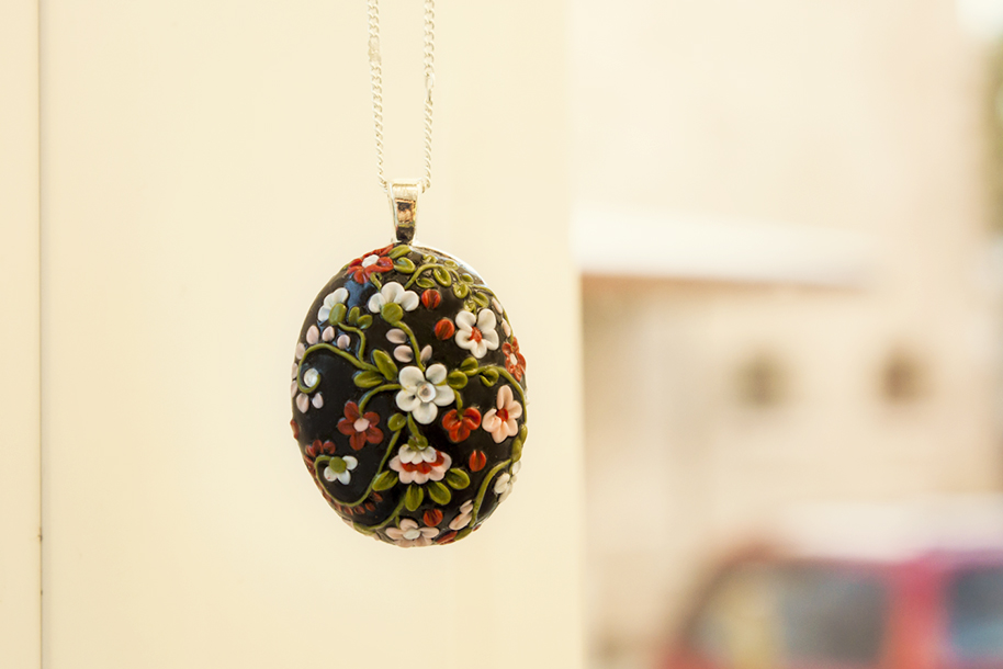 Polymer clay floral pendant by innaadamenya on deviantart polymer clay floral pendant by innaadamenya aloadofball Image collections