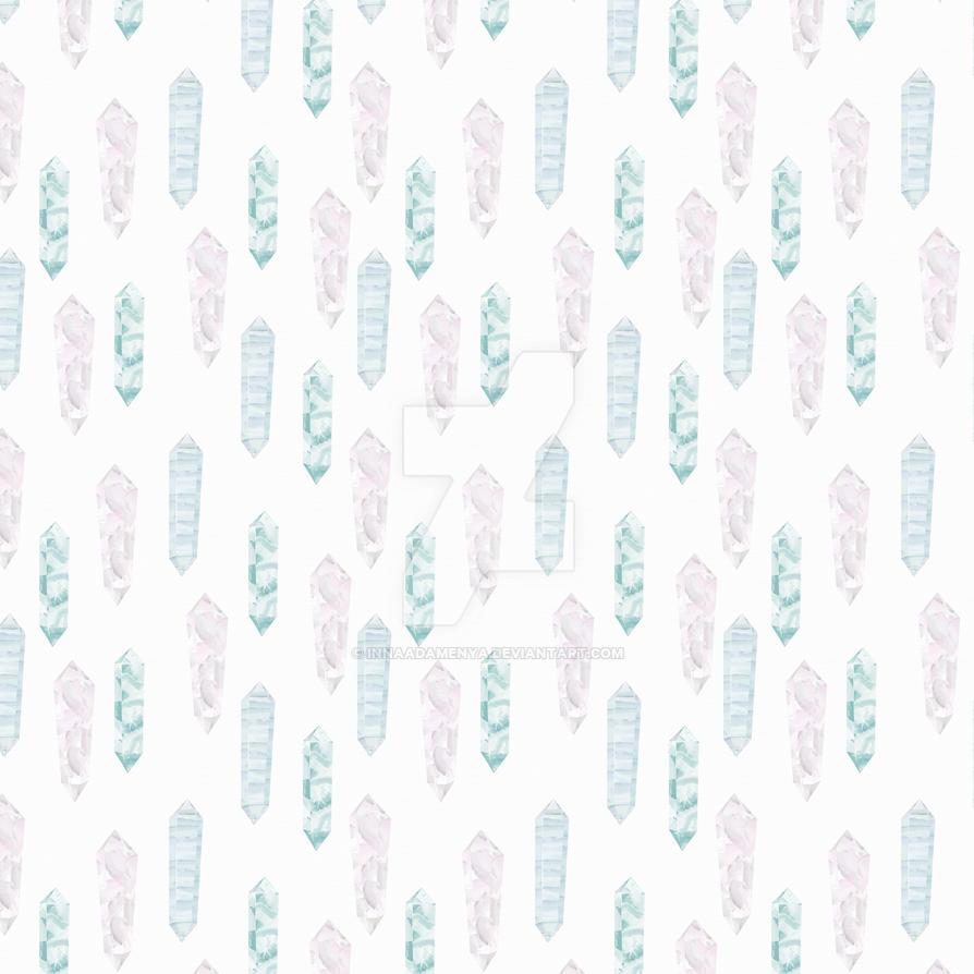Digital scrapbooking paper with crystals by InnaAdamenya