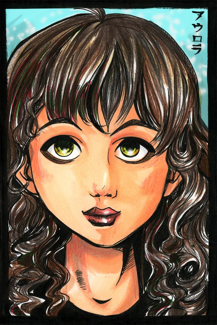 Self portrait by Karontye