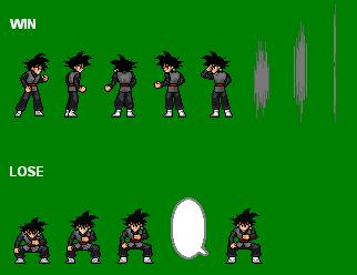 Black Goku Win-Lose JUS by jetrix97