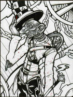 Mad Hatter by zombievoodoo