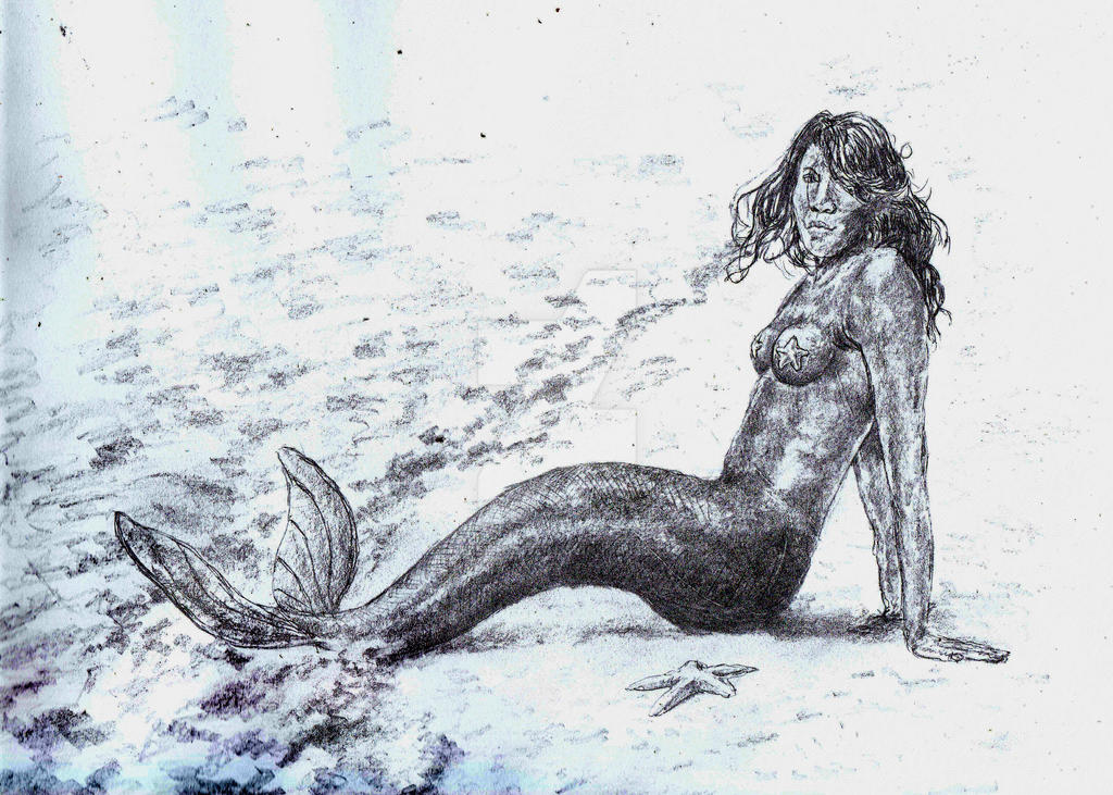 Mermaid Venus by Nelliehunter