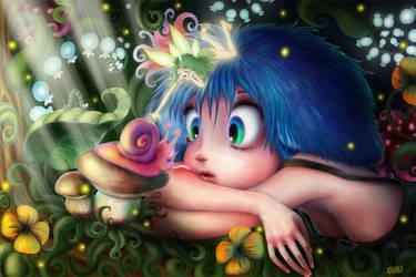 Silence and Magic by ADNAKA