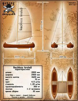 catamaran Reckless kroleG