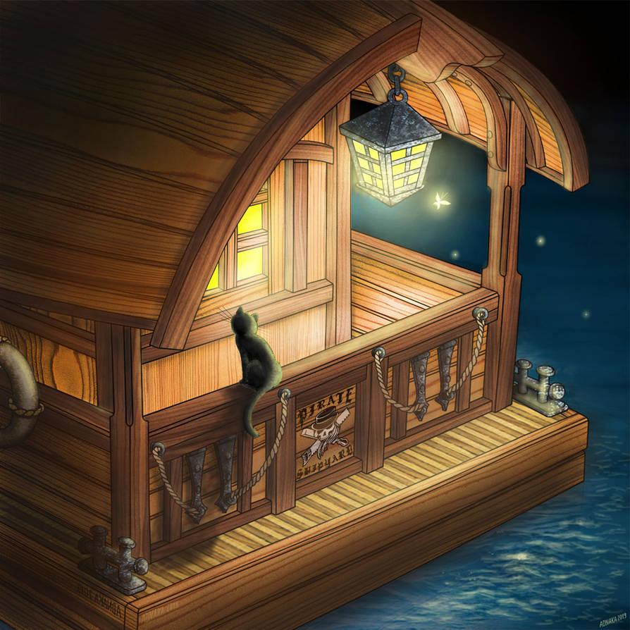 boat house by ADNAKA