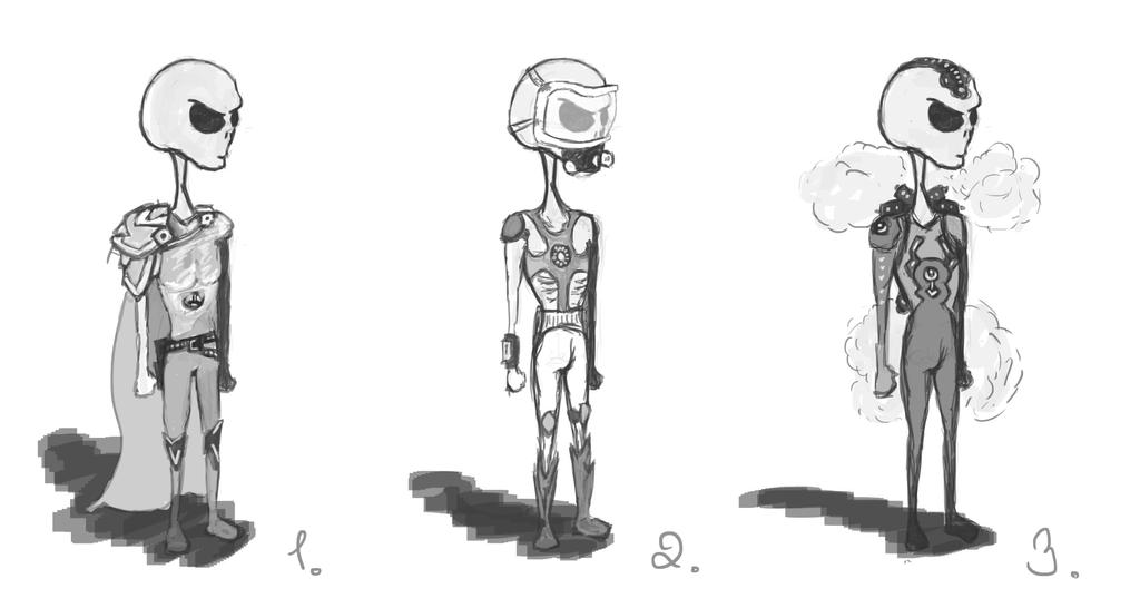Random alien concept by ThamuzMartu