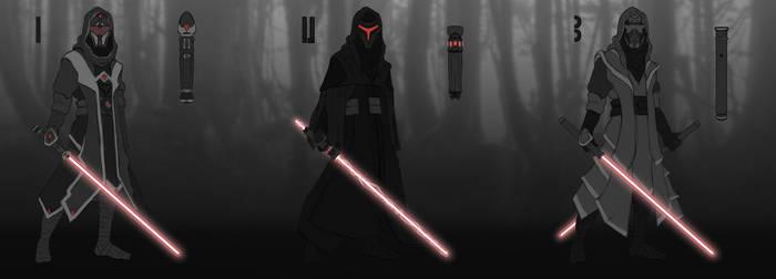 Random Sith or Dark Jedi concept art