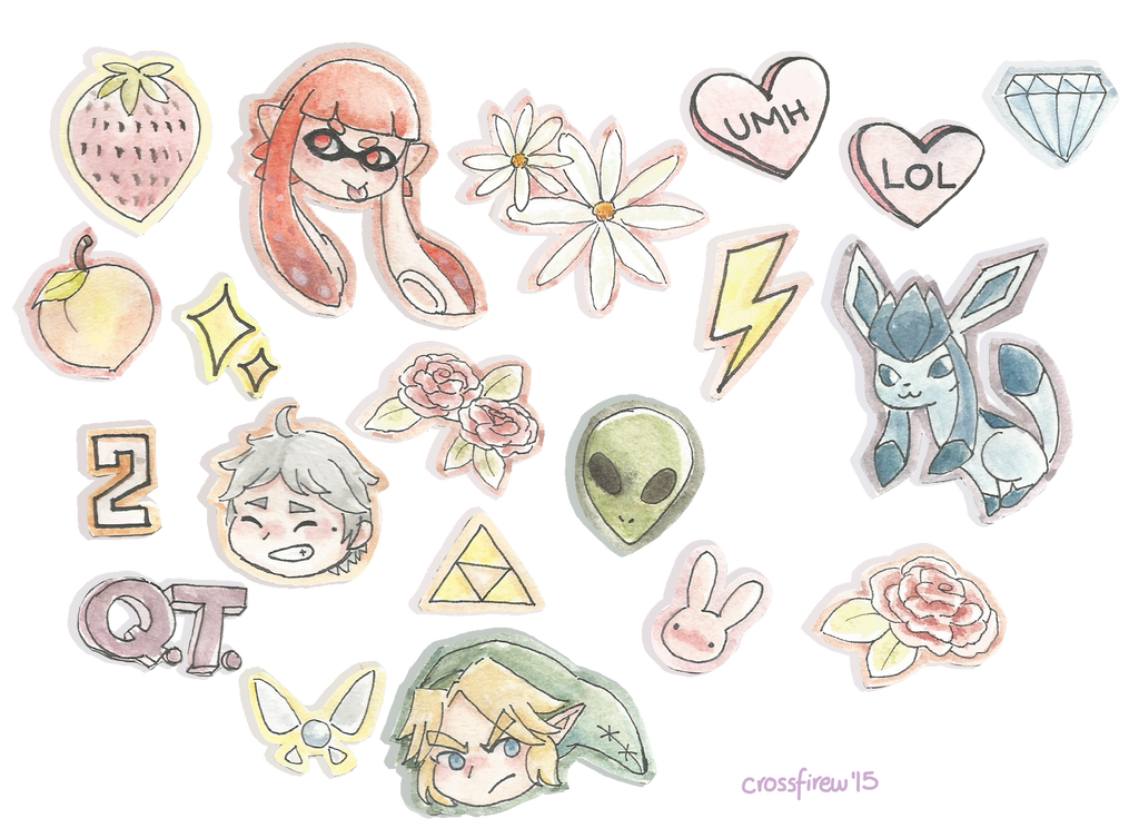 My essence - Sticker Set by WualdhO