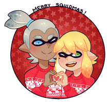 SSS: Merry Squidmas! by WualdhO