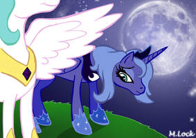come on Luna by mlock
