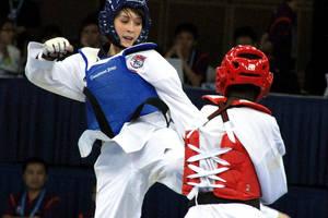 Singapore YOG's Taekwondo by LadyAngelus