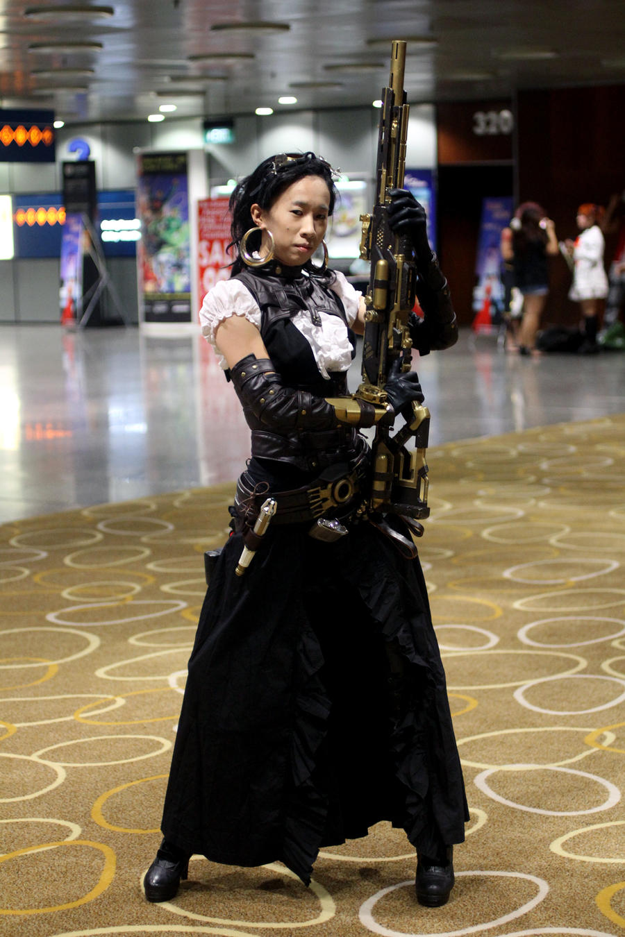Lady Mechanika in STGCC by LadyAngelus