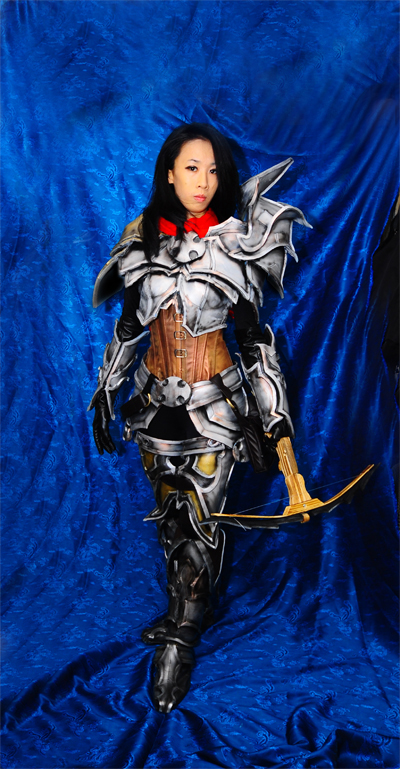 Diablo 3's Demon Hunter by LadyAngelus