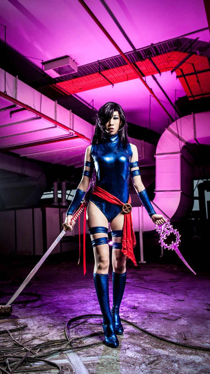 Psylocke Cosplay by LadyAngelus