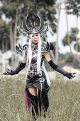Syndra, the Dark Sovereign by LadyAngelus