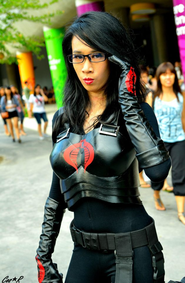 GI JOE's Baroness by LadyAngelus
