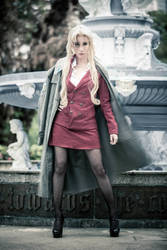 Black Lagoon's Balalaika cosplay by LadyAngelus