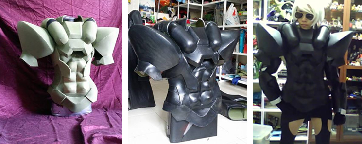 WIP: Solidus Snake Build up/Test fitting by LadyAngelus