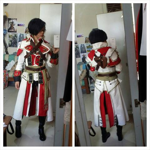 Shay Cormac's Templar Master Coat by LadyAngelus