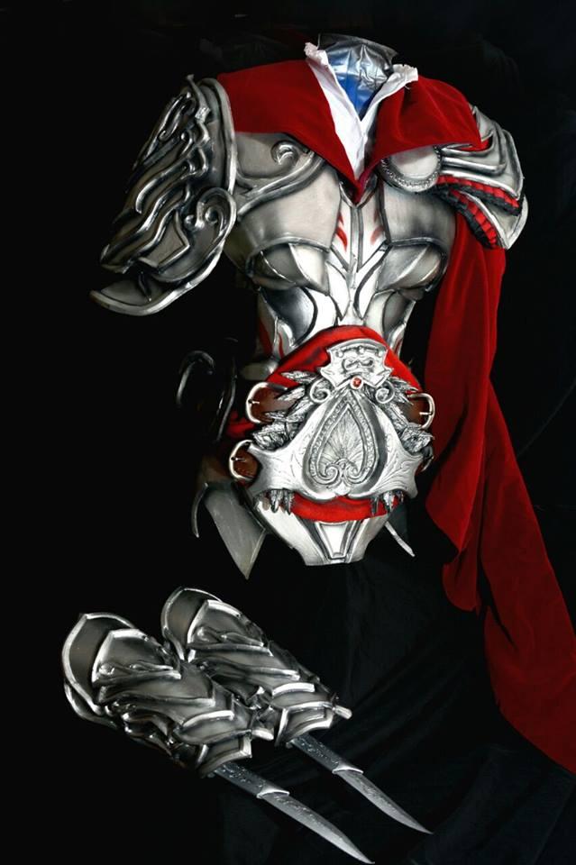 Ezio's Helmschmied Drachen Armor by LadyAngelus