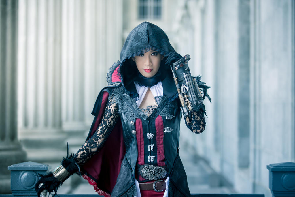 Evie Frye In Bloofer Lady Outfit By Ladyangelus On Deviantart