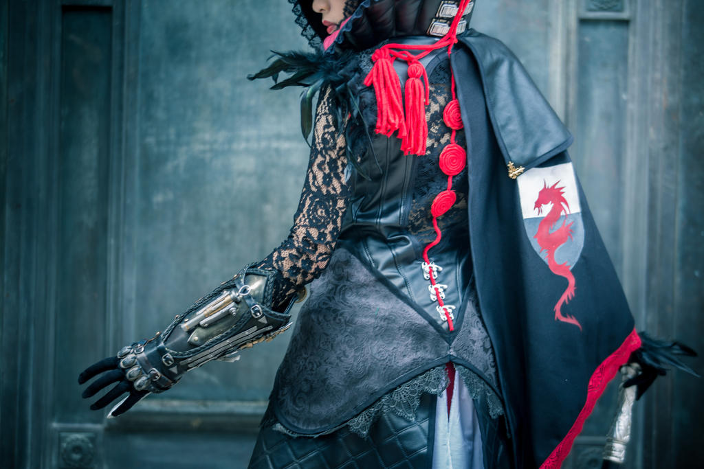 Evie Frye In Bloofer Lady Outfit Cosplay By Ladyangelus On Deviantart