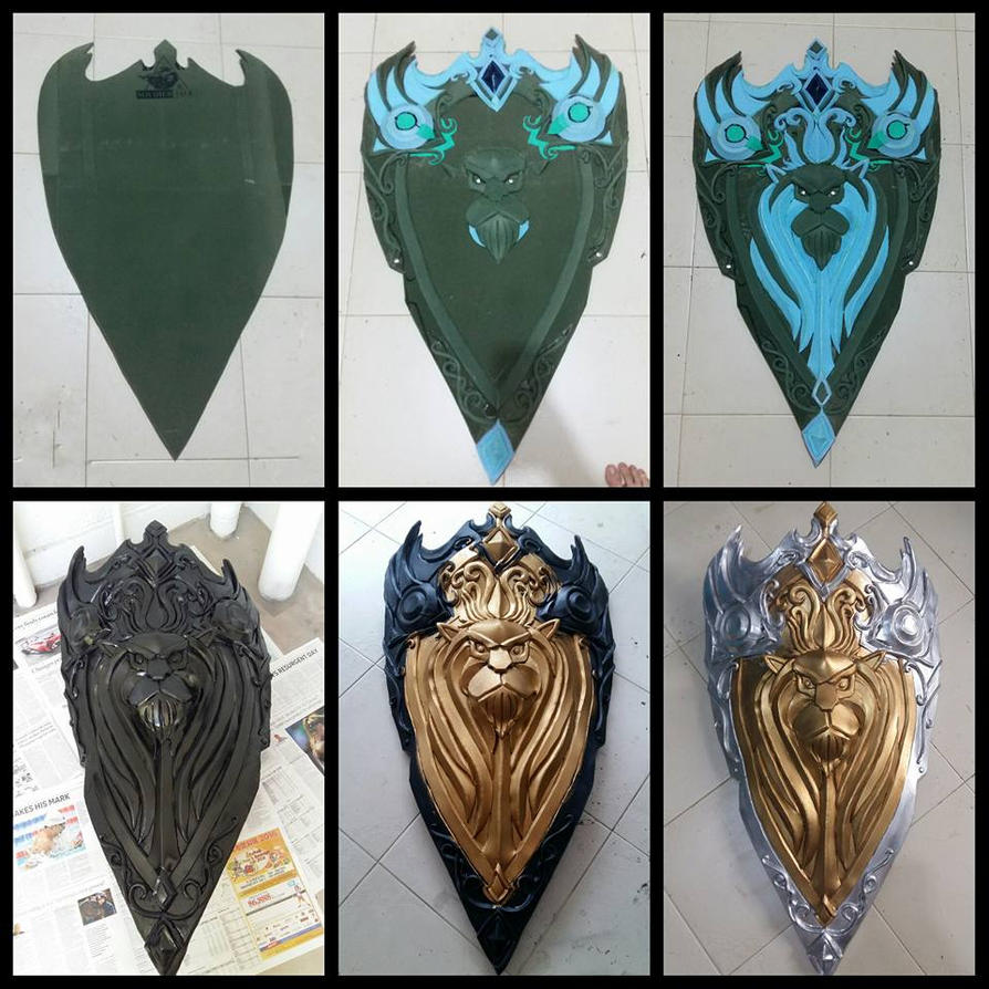 King Llane Shield by LadyAngelus
