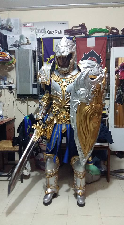 Test Fitting on King Llane Costume by LadyAngelus