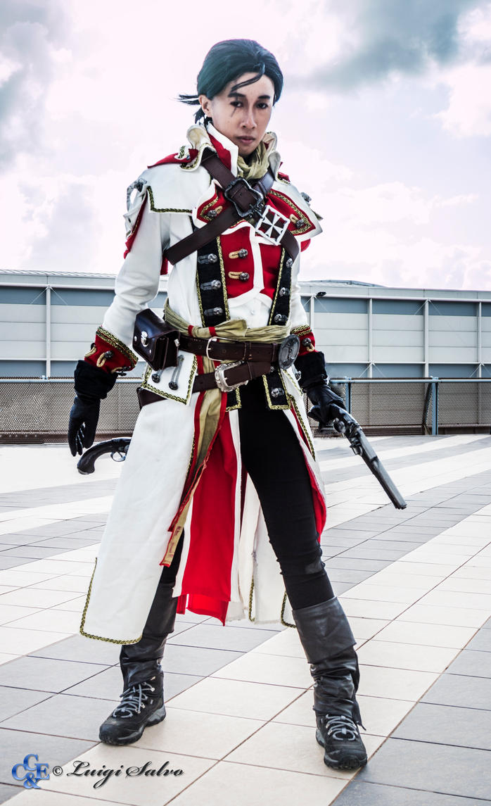 Shay Cormac (Master Templar Outfit) by LadyAngelus