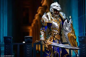 King Llane (Warcraft) by LadyAngelus