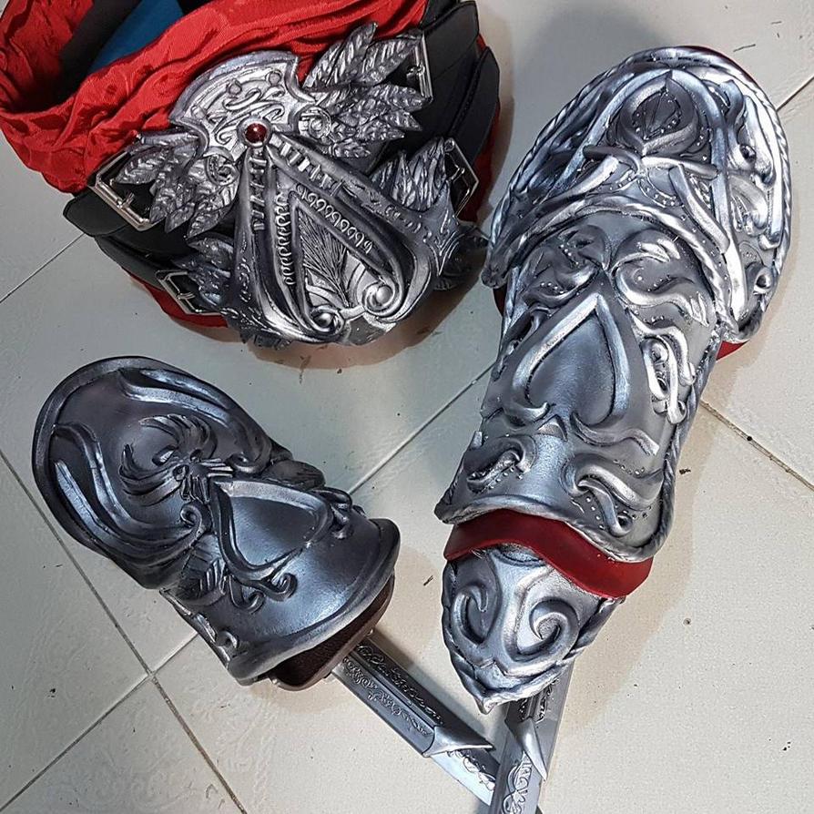 Ezio Auditore (Seusenhofer Armor) by LadyAngelus