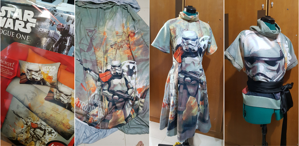 Bedsheet Fashion by LadyAngelus