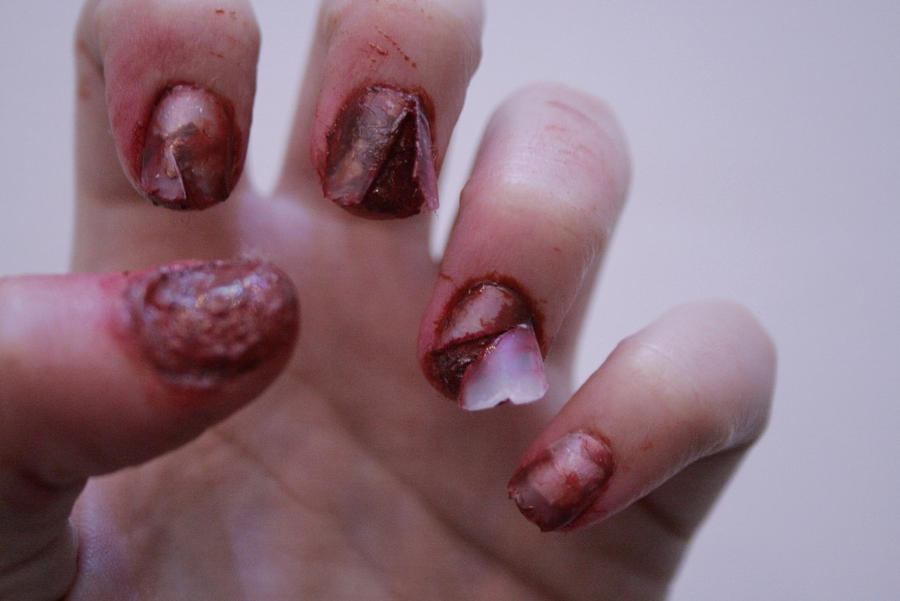 Ripped nails by Sillycious on DeviantArt