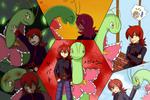 Tsubaki and Meganium - (JBA)