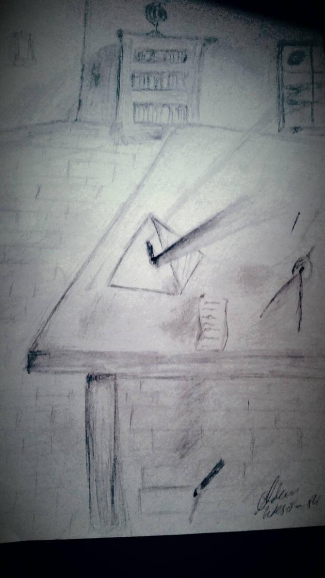 Newton's lab by Adao77