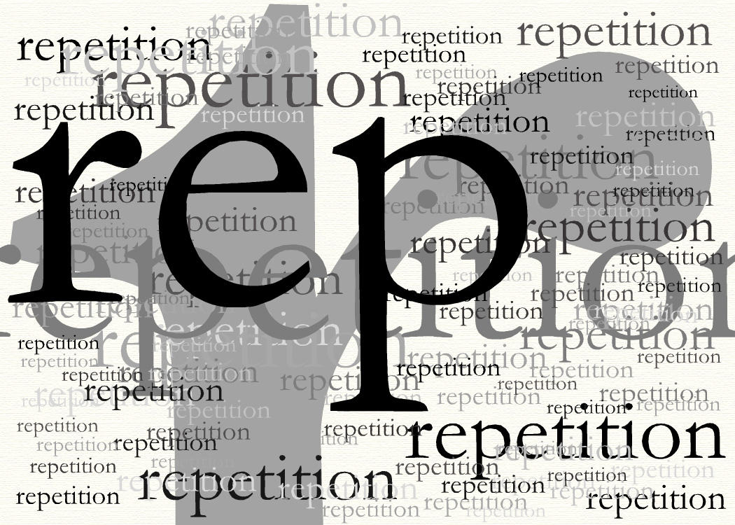Image result for images for the word repetition