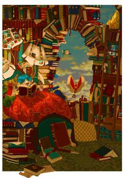 Archibald dreams of books